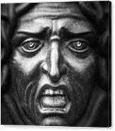 Face #9874 Canvas Print