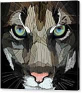 Face De Puma Canvas Print