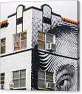 Face House, Calle Ocho Canvas Print