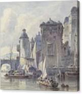 Face Koblenz Canvas Print