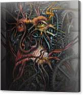 Face Machine Canvas Print