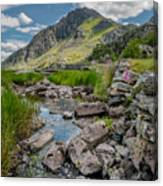 Face Of Tryfan Canvas Print