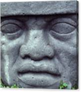 Face On Bali Canvas Print