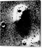 Face On Mars Canvas Print