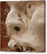 Face On San Trovaso Bell Tower Canvas Print