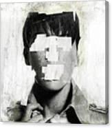 Faceless No 02 Canvas Print