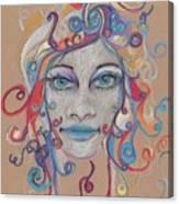 Faces 16 Canvas Print