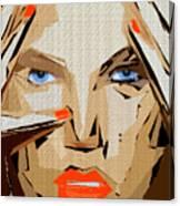 Facial Expressions Xix Canvas Print