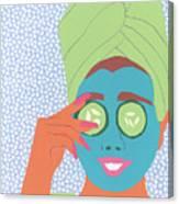 Facial Masque Canvas Print