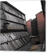 Factory Windows 3 Canvas Print
