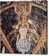 Faded Chandelier  Canvas Print
