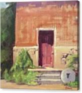 Faded Door Canvas Print