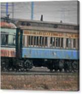 Faded Glory - B And O Railroad Car Canvas Print