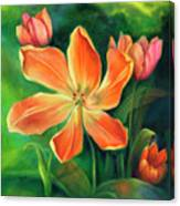 Fading Beauty Canvas Print
