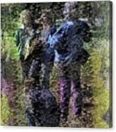Fading Flower Children Canvas Print