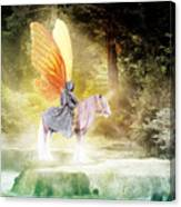 Fae In The Forest Canvas Print