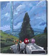 Fahrvergnuegen Canvas Print