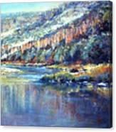 Faiding Light Canvas Print