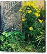 Failte Stone, A Welcome In Ireland Canvas Print