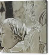 Fair Faces Canvas Print
