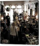 Fair Oaks Antique Shop Canvas Print