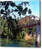 Fair Oaks Bridge Canvas Print