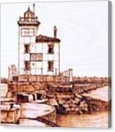 Fair Port Harbor Canvas Print
