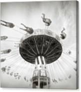 Fair Swing Ride Canvas Print