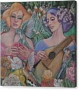 Faire Garden Canvas Print