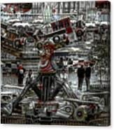 Fairground Narrative Canvas Print