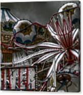 Fairground Rides Canvas Print