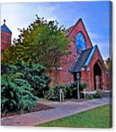 Fairhope Alabama Methodist Church Canvas Print