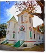 Fairhope Zion Church Canvas Print