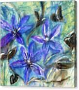 Fairies In The Garden Canvas Print