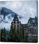 Fairmont Springs Hotel In Banff, Canada Canvas Print