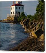 Fairport Harbor Lighthouse Panoramic Canvas Print
