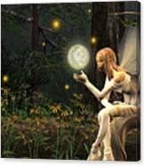 Fairy Light Canvas Print