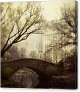 Fairy Of New York Canvas Print