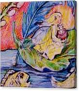 Fairy On The River. Canvas Print