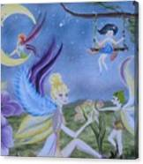 Fairy Play Canvas Print