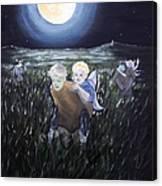 Fairy Races At Tara Canvas Print