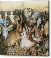 Fairy Twilight Canvas Print