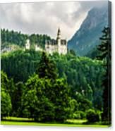 Fairytale Castle Neuschwanstein  Canvas Print
