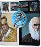 Faith And Evolution Canvas Print