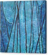 Faith At The Sea Of Reeds Canvas Print