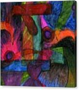Faith Explosions Canvas Print