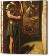 Faithful Unto Death Canvas Print