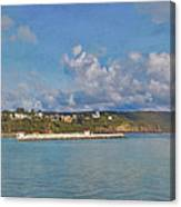 Fajardo Ferry Service To Culebra And Vieques Panorama Canvas Print