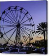Fajitaville Ferris Wheel 2 Canvas Print