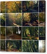 Fall - A Montage Canvas Print